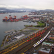 Port Of Vancouver - Stock Photo