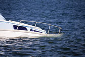 Sinking Boat — Stock Photo
