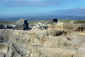 Stone quarry — Foto de Stock