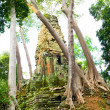 Preah Palilay Temple in Cambodia — Stock Photo #5419489