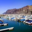 Los Gigantes Marina — Stock Photo