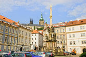 The Holy Trinity Column in Prague — Stock Photo