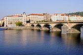 Palackeho Bridge in Prague — Stock Photo
