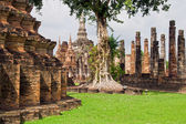 Temple Ruins in Thailand — Stock Photo
