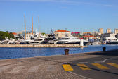 Zadar Harbor — Stock Photo