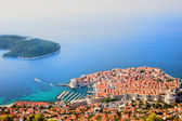 Dubrovnik Aerial View — Stock Photo