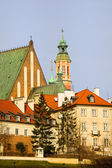 Stare miasto w warszawie — Zdjęcie stockowe