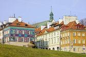 Ciudad nueva en varsovia — Foto de Stock