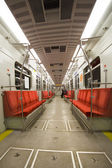 Subway Interior — Foto Stock