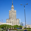 Palace of Culture and Science — Stock Photo #5793316