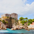Fort Lovrijenac in Dubrovnik — Stock Photo