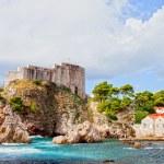 Fort Lovrijenac in Dubrovnik — Stock Photo #5955910