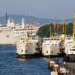 Stock Photo: Ferry Port in Istanbul