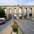 Royalty-Free Stock Photo: Valens Aqueduct in Istanbul