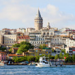 Beyoglu District in Istanbul - Stock Photo