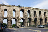 Valens Aqueduct in Istanbul — Stock Photo