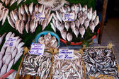 Fish Market Stall — Stock Photo