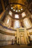 Mihrab in the Hagia Sophia — Stock Photo
