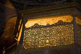 Highlighted Balcony in Hagia Sophia — Stock Photo