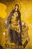 Virgin Mary and Jesus Mosaic — Stock Photo