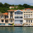 Houses on Bosphorus Strait — Stock Photo #6246462