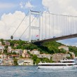 Bridge on Bosphorus Strait — Stock Photo #6246630