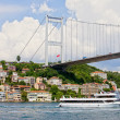 Bridge on the Bosphorus Strait — Stock Photo
