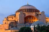 Hagia Sophia at Dusk — Stock Photo