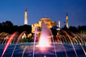 Hagia Sophia at Night — Stock Photo