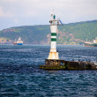 Lighthouse on the Bosphorus Strait — Stock Photo