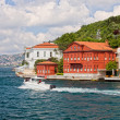 Houses on Bosphorus Strait — Stock Photo #6309728