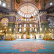 New Mosque Interior in Istanbul — Stock Photo #6397263