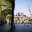 Blue Mosque at Dusk — Stock Photo