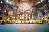 New Mosque Interior in Istanbul — Stock Photo