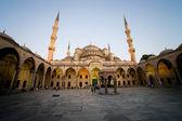 Modrá mešita za soumraku — Stock fotografie
