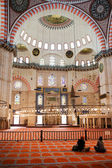 Suleymaniye moskén interiör — Stockfoto