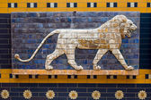 Ishtar Gate Babylonian Mosaic — Stock Photo