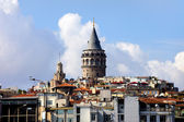 Galata Tower in Istanbul — Стоковое фото