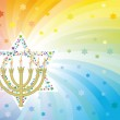 Glad background to the Jewish holiday — Stock Vector #5650581