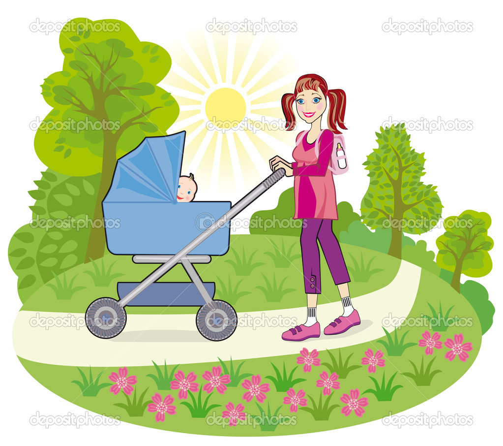 how to go shopping with a pram