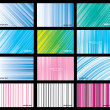 Set for Abstract Background Vector - Stock Vector