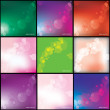 abstarct lights background — Stock Vector