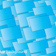 vector 3d square vector background — Stock Vector