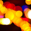 Blur defocus lights — Stock Photo