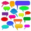 Colorful chat bubbles — Stock Vector #5847291