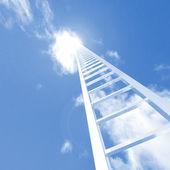 Hemel ladder — Stockfoto