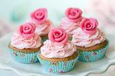 ビンテージのカップケーキ — ストック写真