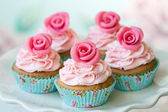 Vintage cupcakes — Stockfoto