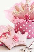 Princess cookies — Stock Photo