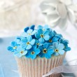 Wedding cupcake — Stock Photo